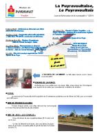 MAI 2019 : LA PUYRAVAULTAISE, LE PUYRAVAULTAIS